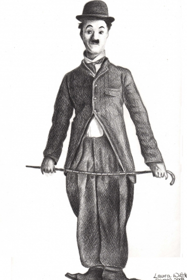 Charlie Chaplin by Rhodesia